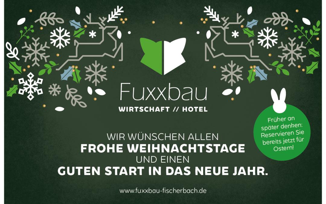 Der Fuxxbau Fischerbach sagt Danke!